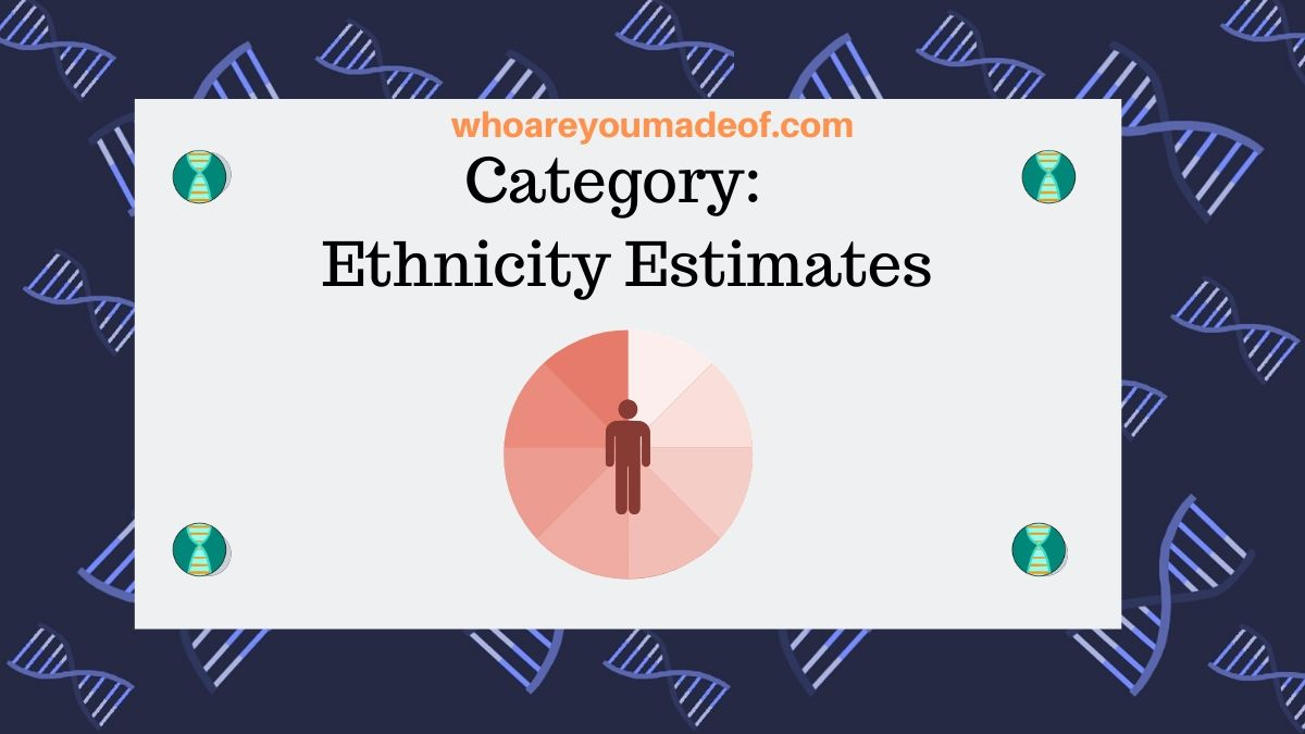 Category:  Ethnicity Estimates