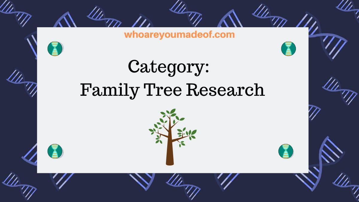 Post Category Family Tree Research