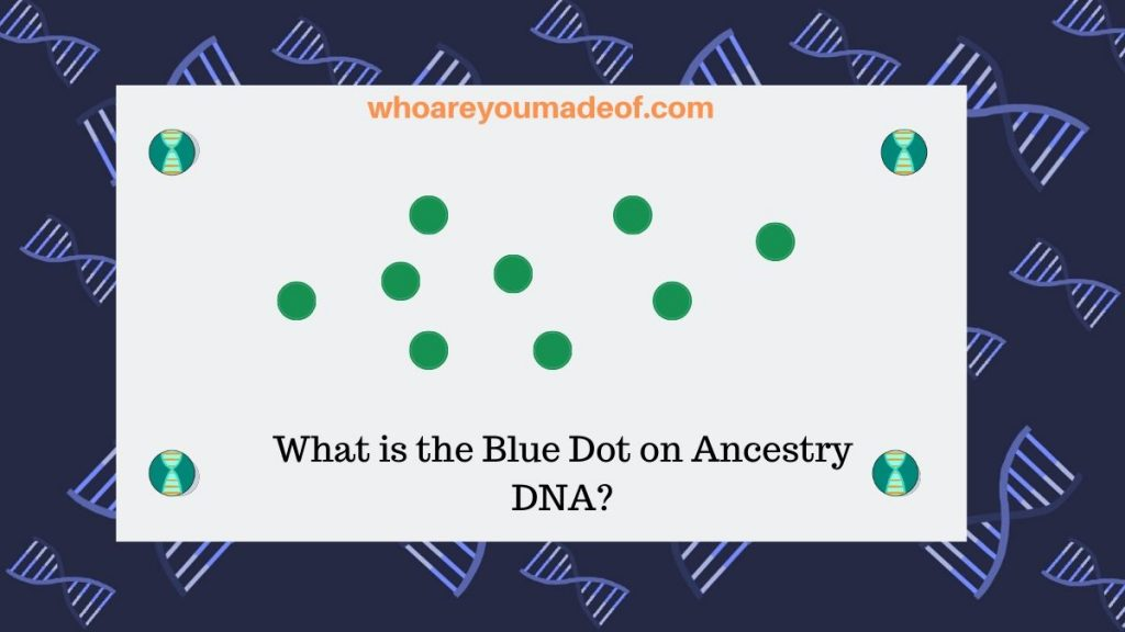 What is the Blue Dot on Ancestry DNA_