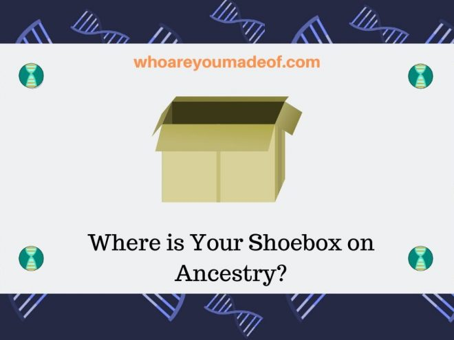 Where is Your Shoebox on Ancestry_