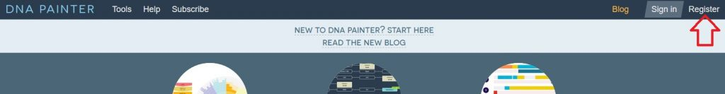 How to register for a DNA Painter account