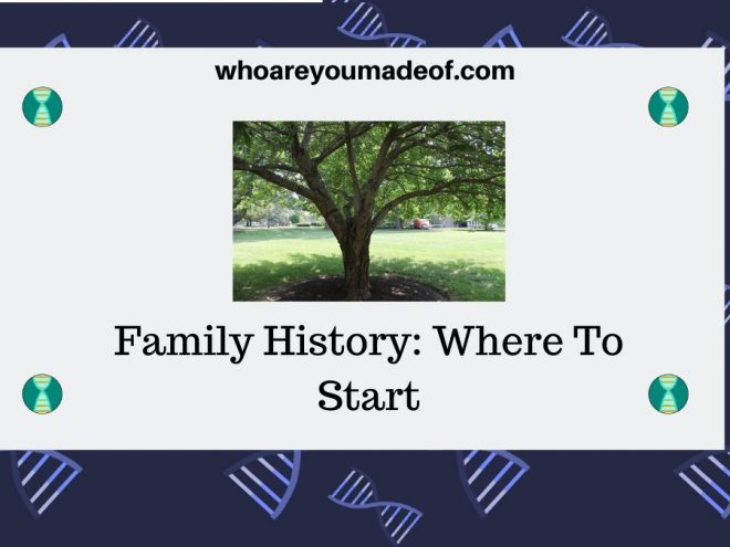 Family History Where To Start