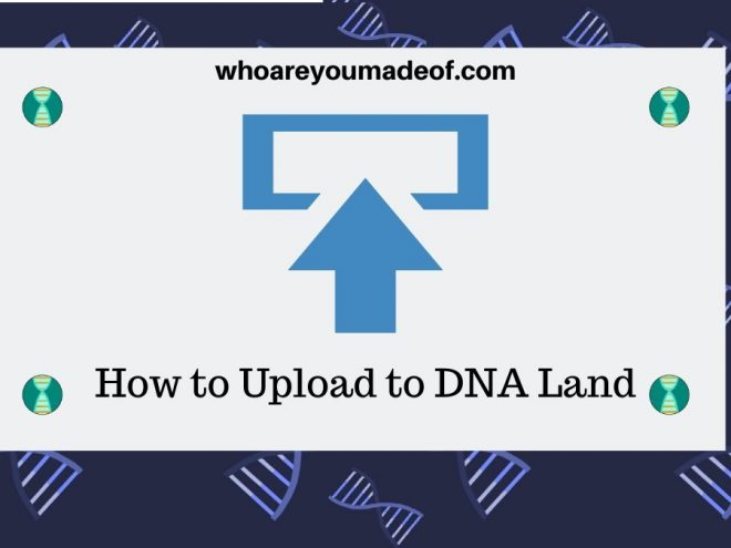 How to Upload to DNA Land