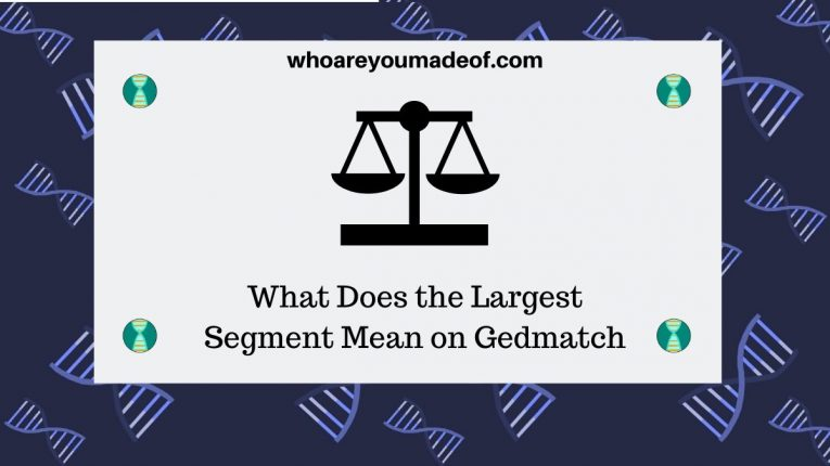 What Does the Largest Segment Mean on Gedmatch