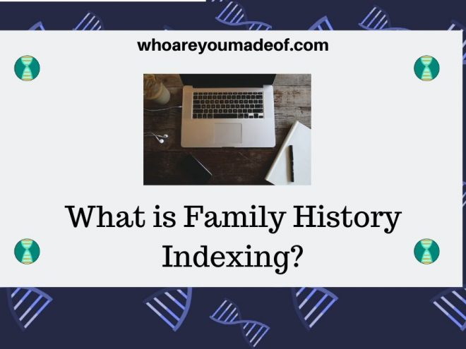 What is Family History Indexing