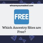 Which Ancestry Sites are Free