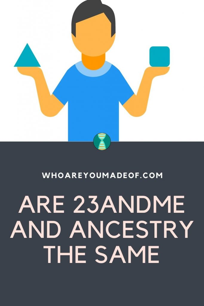 Are 23andMe and Ancestry the same Pinterest Image