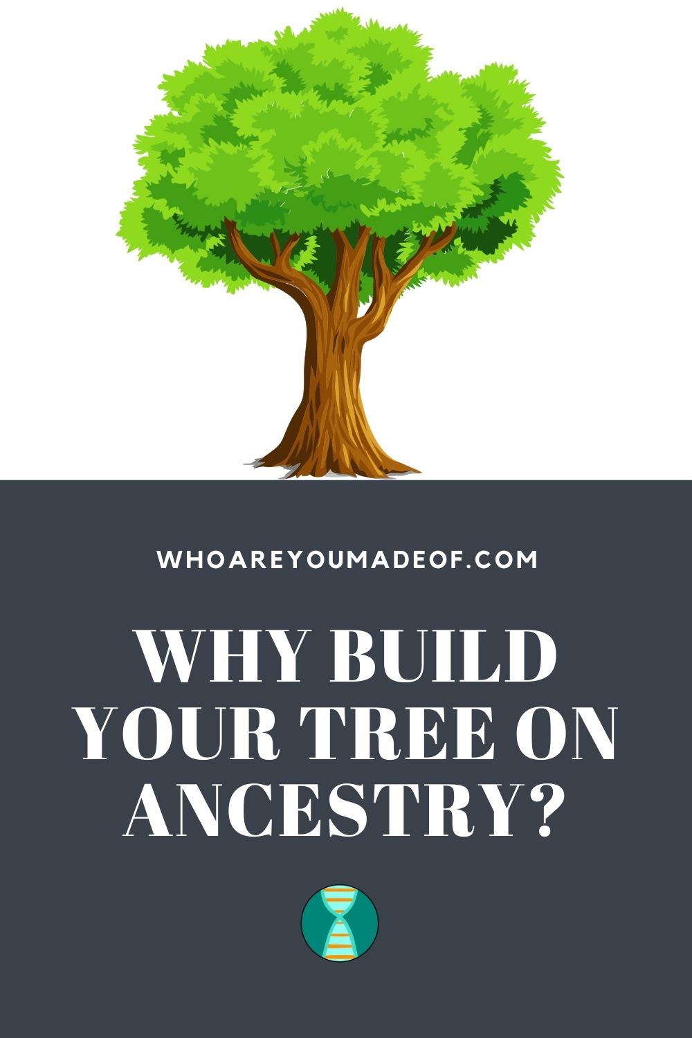 Why Build Your Tree on Ancestry Pinterest Image