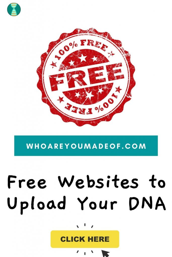 "Free Websites to Upload Your DNA Pinterest image with ""free"" stamp"