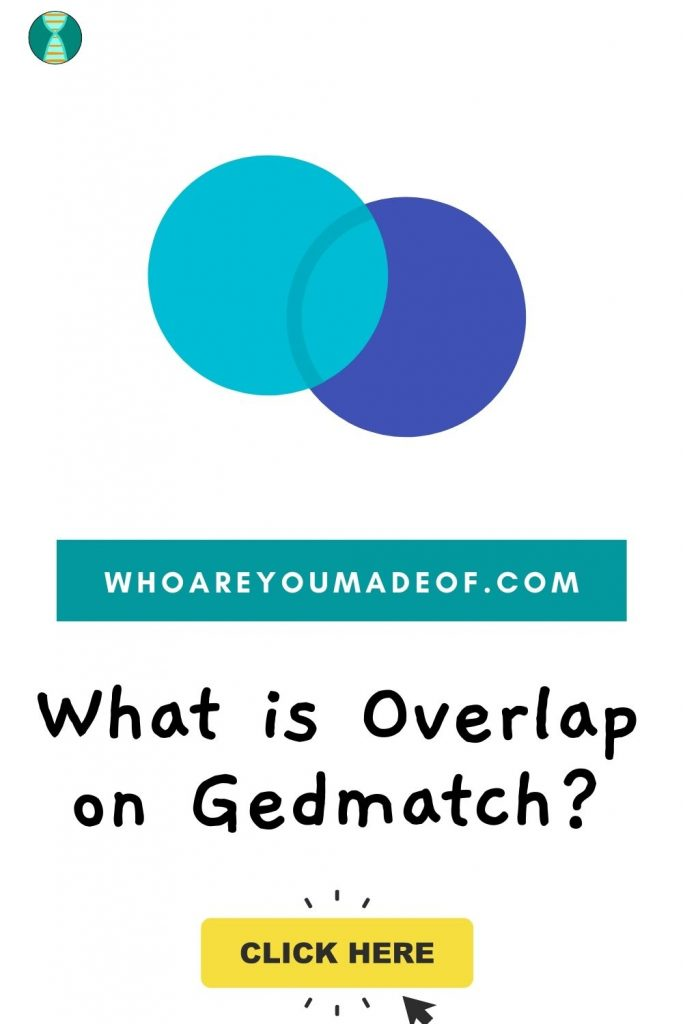 What is Overlap on Gedmatch pinterest image