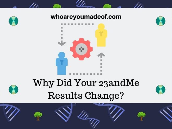 Why Did Your 23andMe Results Change