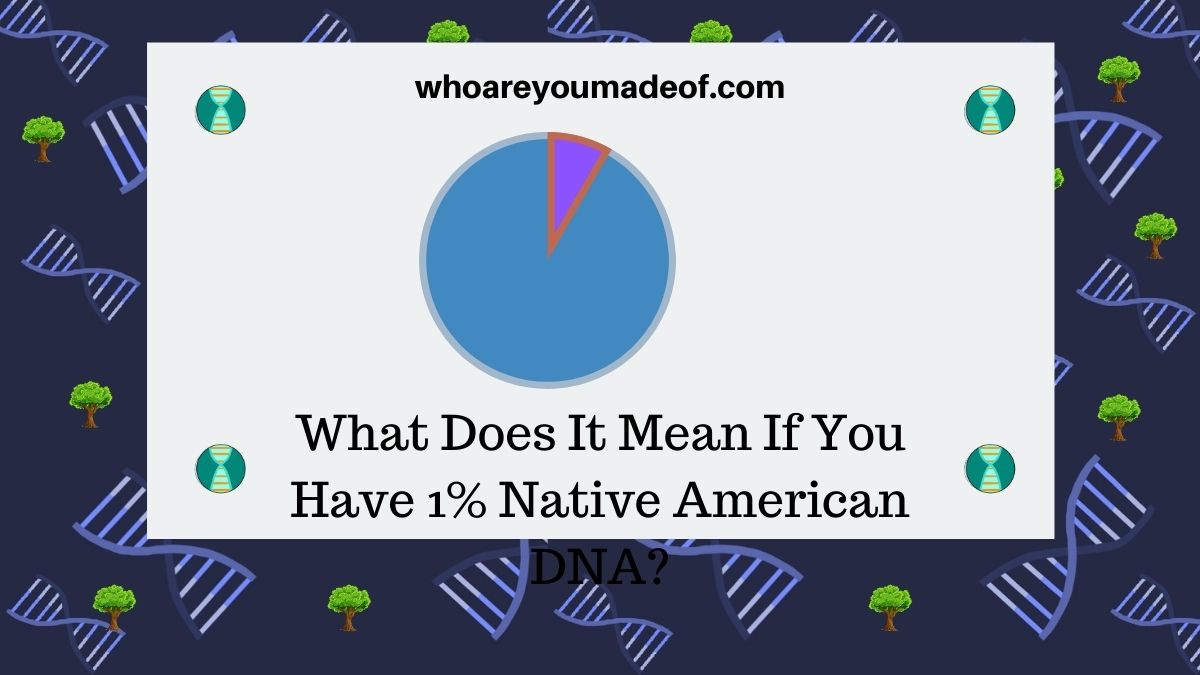 What Does It Mean If You Have 1% Native American DNA