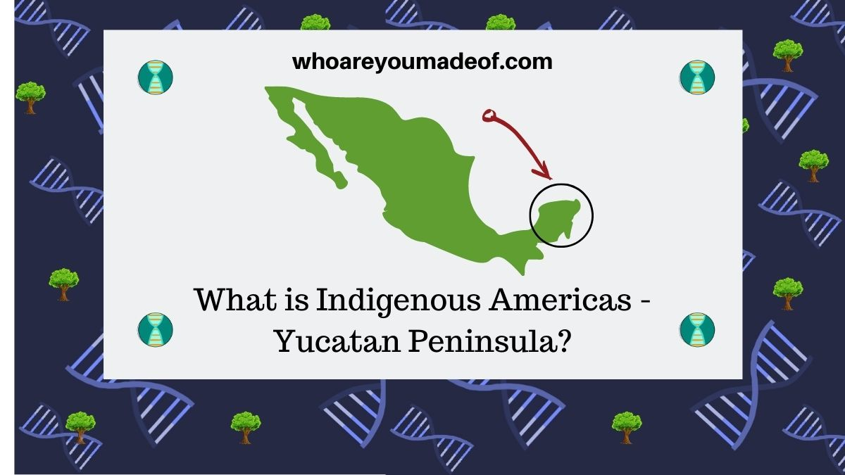 What is Indigenous Americas - Yucatan Peninsula on Ancestry
