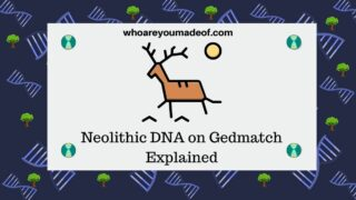 Neolithic DNA on Gedmatch Explained