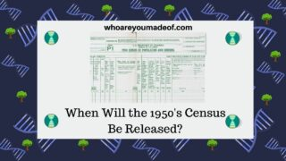 When Will the 1950's Census Be Released