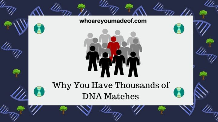 Why You Have Thousands of DNA Matches Decorative Featured Image
