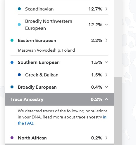 example of trace ancestry on 23andme results