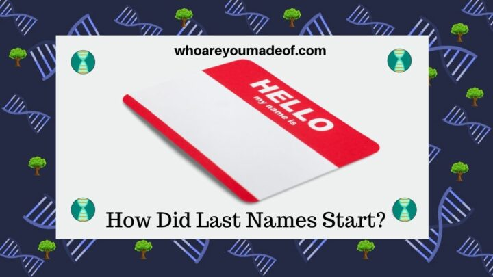 How Did Last Names Start