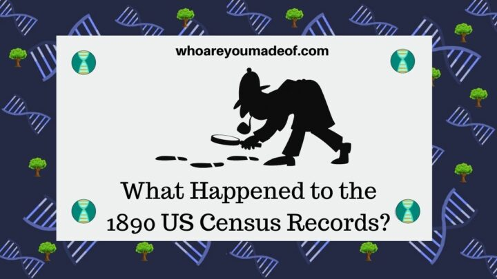 What Happened to the 1890 US Census Records?